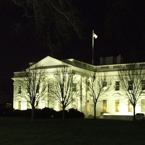 White House at night - Mark Sutherland