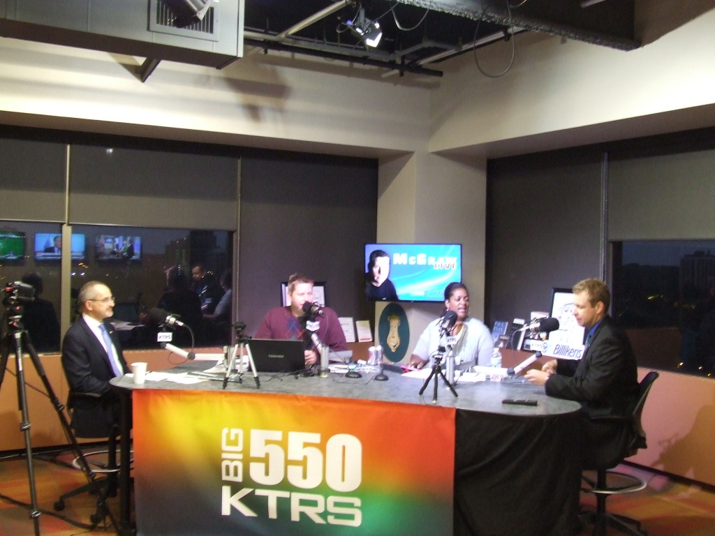 Talking about Scotland on the Big 550 KTRS